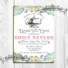 free printable bridal shower tea party invitations templates classic tea party bridal shower invitations wording with