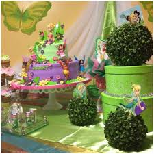 tinkerbell party ideas tinkerbell birthday table decoration image inspiration of cake