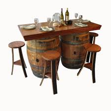 bar stools wine barrel coffee table reclaimed stave with storage