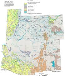 Map Of Arizona And Utah by Ha 730 C Surficial Aquifers
