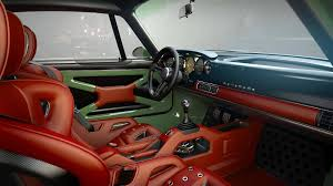 porsche 911 interior back seat singer design porsche 911 project with williams tech finished
