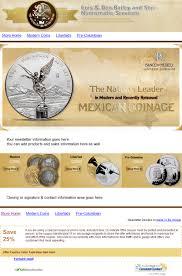 mexican coin broker u2013 newsletter template design oklahoma custom