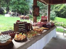 Rustic Backyard Party Ideas Best 25 Rustic Wedding Showers Ideas On Pinterest Country