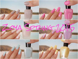 zoya spring collections 2015 youtube