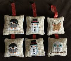 how to make cross stitch ornaments ornament