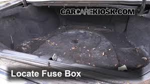 Seeking Fuse 1992 2002 Cadillac Eldorado Interior Fuse Check 2000 Cadillac