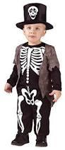 2 3 Halloween Costume Toddler Boys Smart Skeleton Halloween Fancy Dress Costume