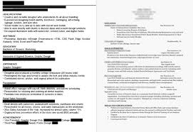 how to format a professional resume dissecting the and bad resume in a creative field emily