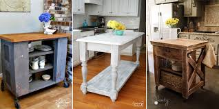 diy kitchen island ideas 15 gorgeous diy kitchen islands for every budget