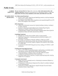 Best Police Officer Resume Example Livecareer by Military Police Job Description For Resume Contegri Com