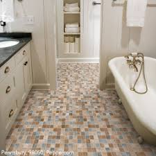 bathroom floor ideas vinyl bathrooms flooring idea simplicity pennsbury by mannington