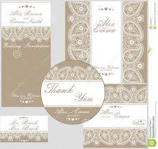 elegant wedding design template of lace stock vector image 39038344