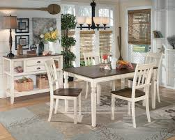 signature design by ashley whitesburg 7 piece rectangular dining