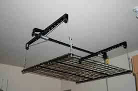 Garage Ceiling Storage Systems by 5 Star Service Benefits Of Phoenix Overhead Garage Storage Systems