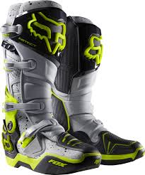 fox boots motocross fox mx boots instinct gray limited edition anaheim 1 2016