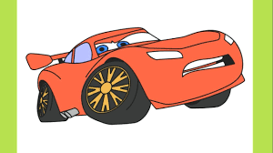 drawing lightning mcqueen from cars 3 coloring pages for kids