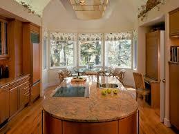 kitchen bay window treatment ideas 12336