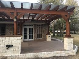 Pergola Off House by Austin Decks Pergolas Covered Patios Porches More Archadeck