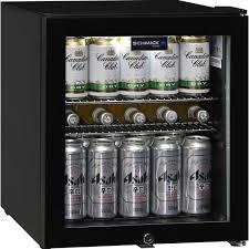 small beer fridge glass door glass door compact bar fridge 50 litre with lock