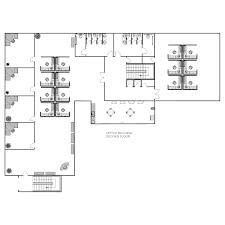 office floor plan samples