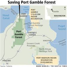 Discovery Park Seattle Map by Saving The Port Gamble Forest A Natural Jewel From Development
