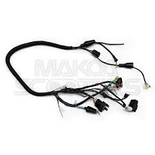 custom honda ruckus parts makoa scooters handbuilt wiring harness