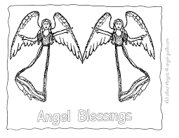 2 guardian angel template with large angel wings 9 angel drawings