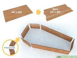 How To Make A Wood Toy Chest by How To Make A Coffin 9 Steps With Pictures Wikihow