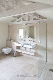 Modern Bathroom Fittings Beautiful Contemporary Country Bathroom Whitewashed Beams And