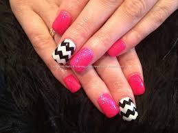 zig zag nail art hair and nails pinterest nail art art and nailed