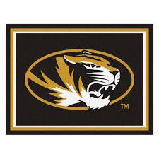 Mizzou Home Decor Of Missouri Tigers Area Rug Nylon 8 U0027 X 10 U0027