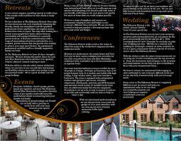 elegant serious brochure design for hudson design by