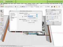 tutorial sketchup autocad sketchup light and shadows sketchup show 42 tutorial youtube