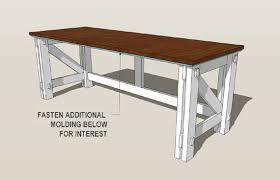 Computer Desk Diy Remodelaholic Custom Computer Desk Plans