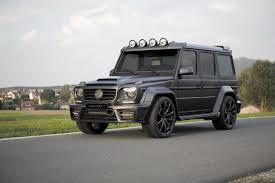 mercedes g wagon matte black gronos black edition u003d m a n s o r y u003d com