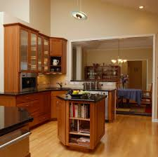 kitchen with an island built in storage and cabinet design ideas photos and descriptions