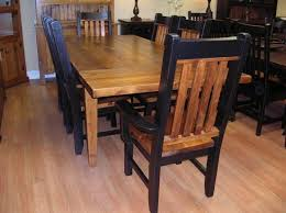 furniture attractive kitchen counter design rustic dining table