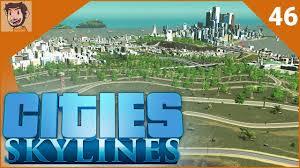 cities skylines part 46 hillside homes youtube