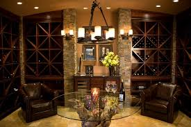 corner wine rack basement contemporary with firewood storage
