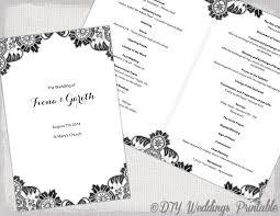 wedding booklet templates catholic church wedding booklet template 28 images catholic