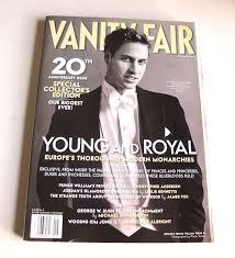 Vanity Fair Canada Vanity Fair Prince William Young European Royalty September