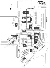 Virginia Tech Campus Map by Del Mar College West Campus Map