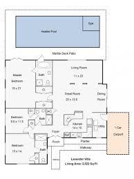 Kosher Kitchen Floor Plan Lavender Villa