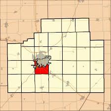 Bloomington Illinois Map by Bloomington Township Mclean County Illinois Wikipedia