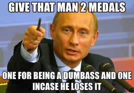 Dumbass Memes - give that man 2 medals one for being a dumbass and one incase he