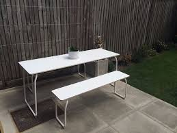 Ikea Ps 2014 Ikea Ps 2014 In Outdoor Folding Dining Table And 2 Benches For