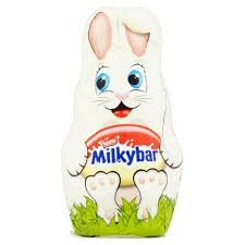 easter chocolate bunny nestle milkybar white chocolate bunny wise choice foods