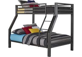 Metal Bunk Bed Frame Affordable Metal Bunk Beds Rooms To Go Furniture