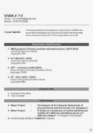 Mba Fresher Resume Pdf Resume Templates Throughout 25 Excellent Format For Mba Fresher Hr