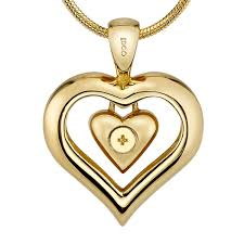 urn necklace for ashes eternity heart cremation ashes necklace with 18k gold finish